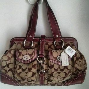 Coach Signature Collection shoulder bag purse